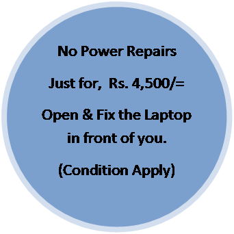 No Power Reapair Laptop